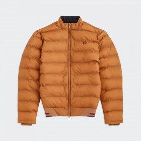 Camel Fred Perry Jacket