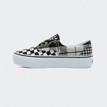Vans Plaid Checkerboard Era Platform Sneakers