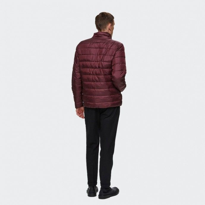 Selected Quilted Plast Jacket