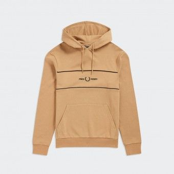 Hoodie Fred Perry Embroid