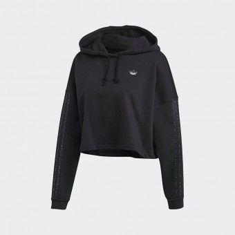 Hoodie Adidas Cropped