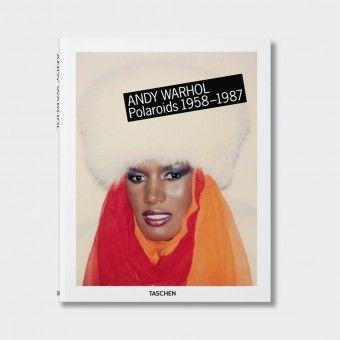 Andy Warhol book. Polaroids 1958-1987