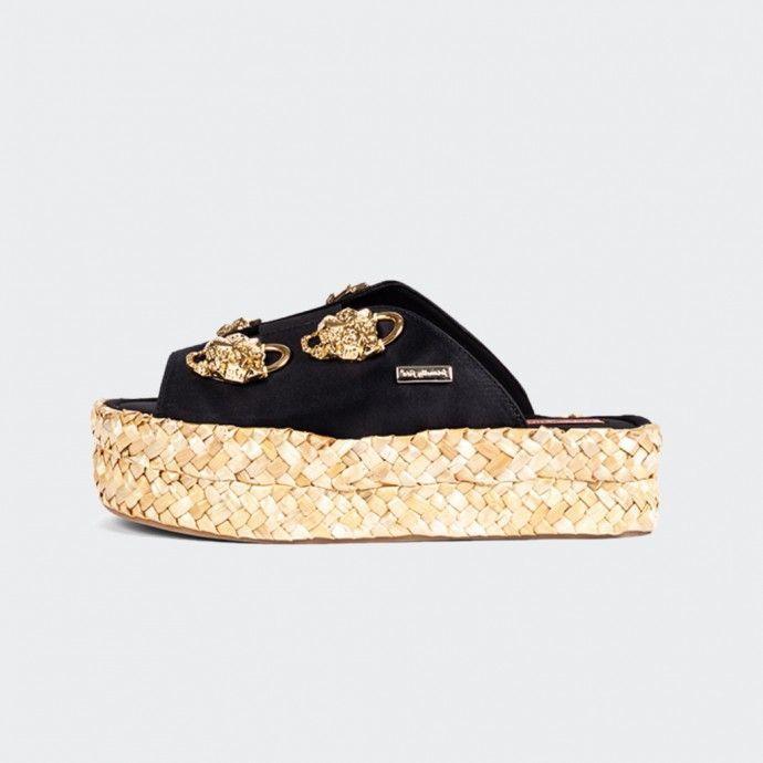 Firendly Fire Platform Sandals