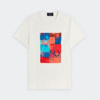 T-Shirt Fred Perry Abstra